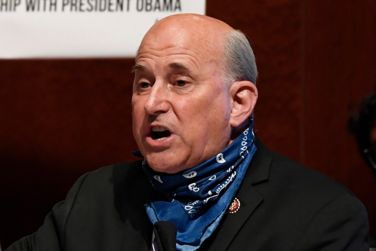 Louie Gohmert believes he 'most likely' got COVID-19 from wearing mask