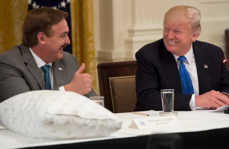 The MyPillow Guy Wants To Bring Trump's COVID Miracle Cure to Life