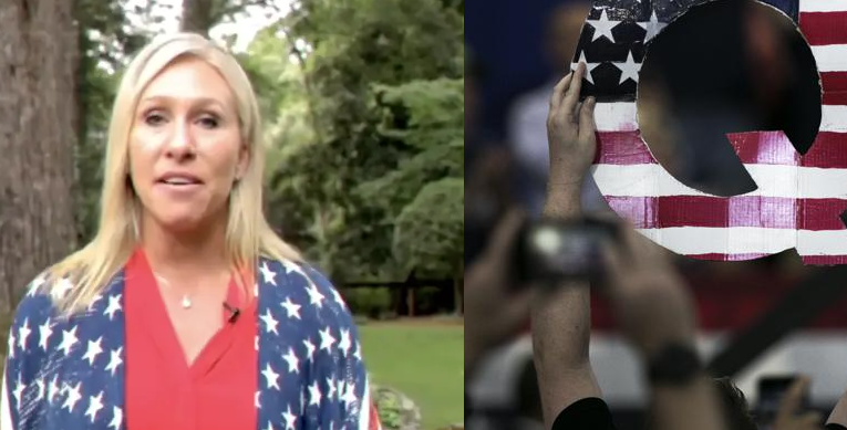 QAnon supporter, with Georgia primary victory, is poised to bring far-right conspiracy theory to Congress