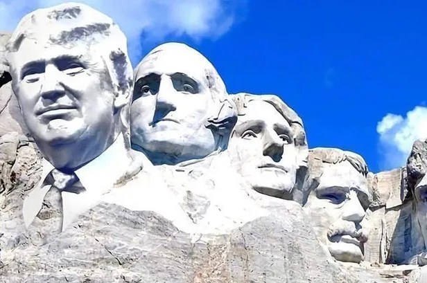 White House reached out to South Dakota governor about adding Trump to Mount Rushmore